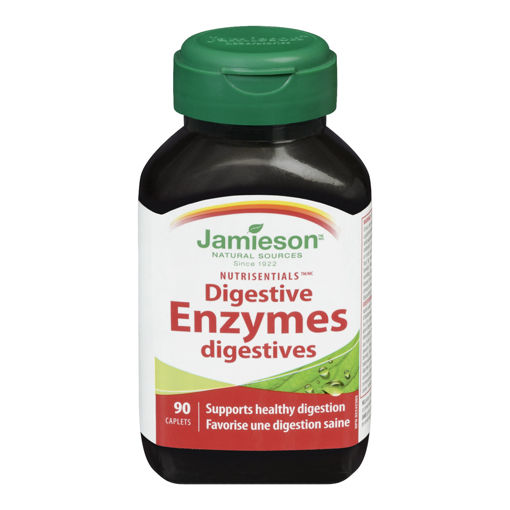 Picture of JAMIESON DIGESTIVE ENZYMES CAPLETS 90S