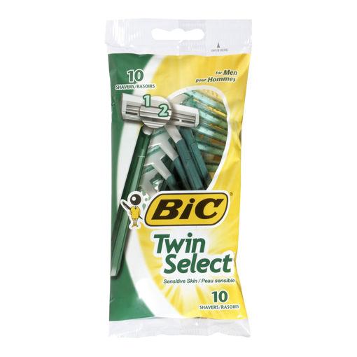 Picture of BIC TWIN SENSITIVE RAZOR - MENS 10S