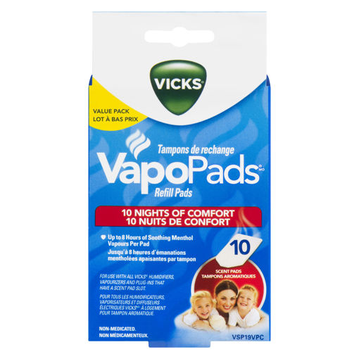 Picture of VICKS VAPO PADS VALUE PACK 10S