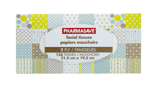 Picture of PHARMASAVE FACIAL TISSUE - 2 PLY 136S