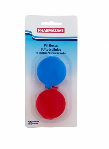 Picture of PHARMASAVE POCKETABLE PILL BOXES 2S