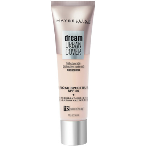 Picture of MAYBELLINE DREAM URBAN COVER FOUNDATION SPF50 - NATURAL IVORY 30ML