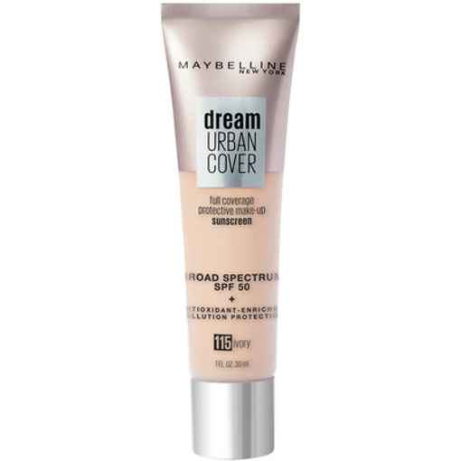 Picture of MAYBELLINE DREAM URBAN COVER FOUNDATION SPF50 - IVORY 30ML