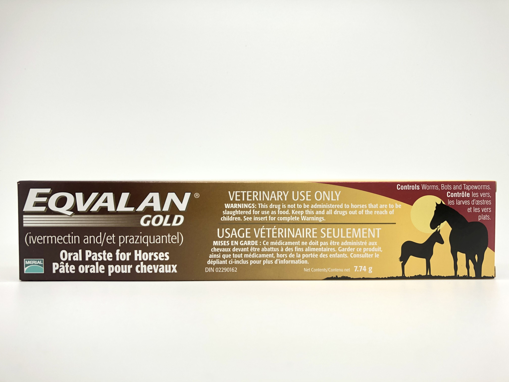 Picture of EQVALAN GOLD ORAL PASTE FOR HORSES - SYRINGE