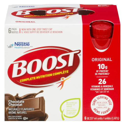 Picture of BOOST - CHOCOLATE 6X237ML