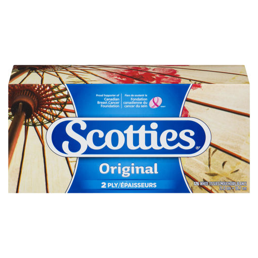 Picture of SCOTTIES FACIAL TISSUE 126S