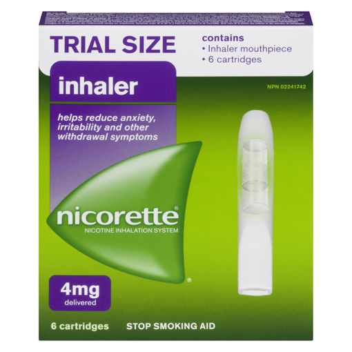 Picture of NICORETTE INHALER CARTRIDGES 6S