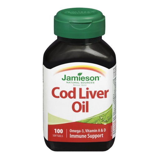 Picture of JAMIESON COD LIVER OIL SOFTGEL CAPSULE 10MIN 100S