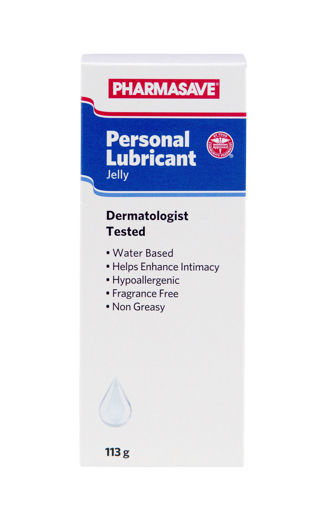 Picture of PHARMASAVE PERSONAL LUBRICANT JELLY 113GR