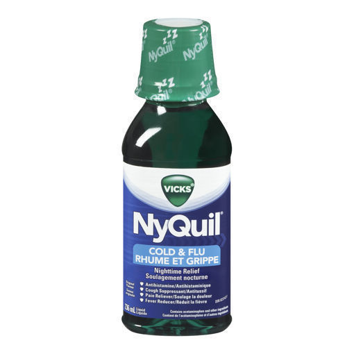 Picture of VICKS NYQUIL COLD LIQUID ORIGINAL 236ML