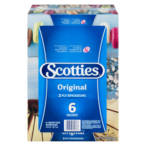 Picture of SCOTTIES FACIAL TISSUE 6X126S