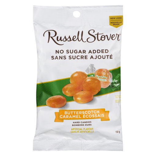 Picture of RUSSELL STOVER NSA HARD CANDY - BUTTERSCOTCH 150GR