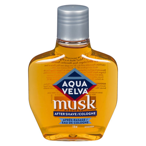 Picture of AQUA VELVA MUSK AFTERSHAVE COLOGNE 118ML