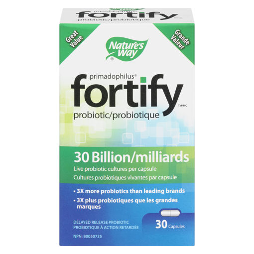 Picture of FORTIFY DAILY PROBIOTIC 30B CAPSULES 30S