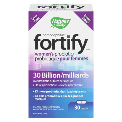 Picture of FORTIFY WOMENS PROBIOTIC 30B CAPSULES 30S