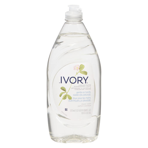 Picture of IVORY ULTRA CLASSIC  DISH DETERGENT - WHITE 573ML