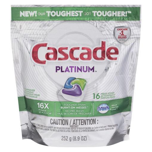Picture of CASCADE PLATINUM UNIT DOSE FRESH 16S