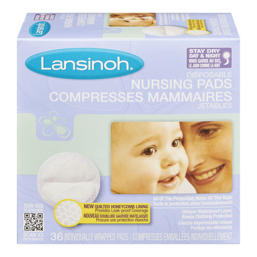Picture of LANSINOH NURSING PADS - DISPOSABLE 36S