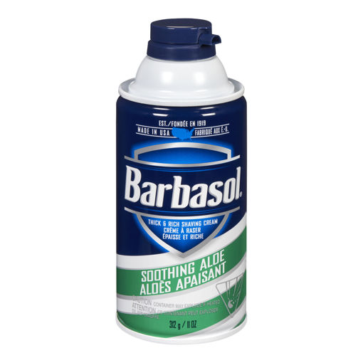Picture of BARBASOL SHAVE CREAM - SOOTHING ALOE 312GR