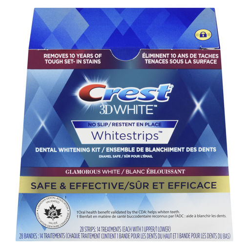Picture of CREST 3D WHITE WHITESTRIPS - GLAMOROUS WHITE 14S
