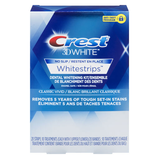 Picture of CREST 3D WHITE WHITESTRIPS - CLASSIC VIVID 10S