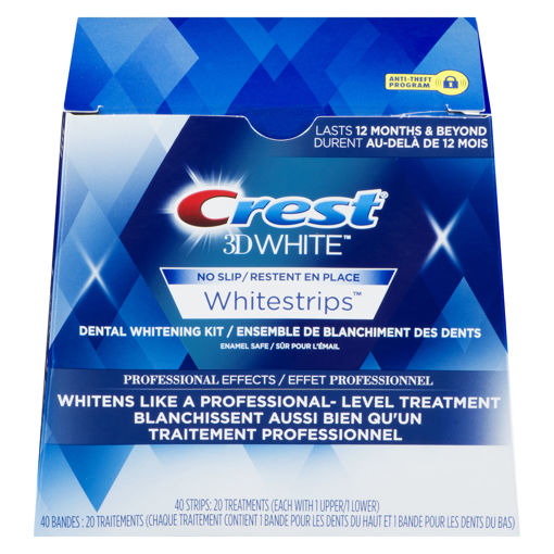 Picture of CREST 3D WHITE WHITESTRIPS - PROFESSIONAL EFFECTS 20S