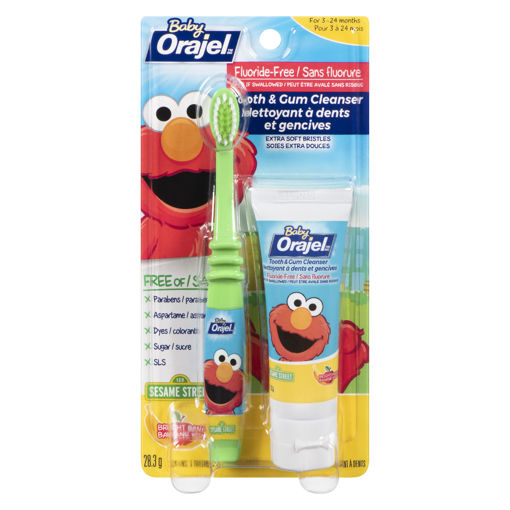 Picture of ORAJEL BABY TOOTH & GUM CLEANSER - APPLE BANANA 28.3GR
