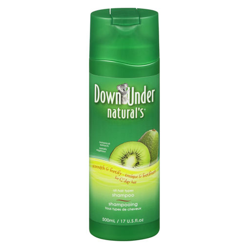 Picture of DOWN UNDER NATURALS SHAMPOO - FORTIFYING 500ML