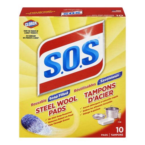 Picture of SOS SOAP PADS 10S