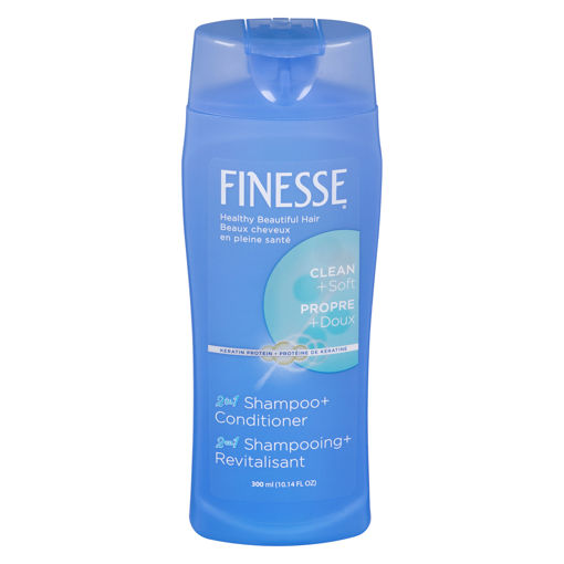 Picture of FINESSE 2 IN 1 SHAMPOO AND CONDITIONER 300ML