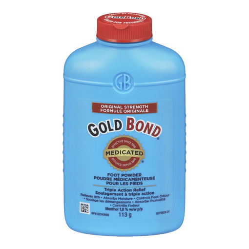 Picture of GOLD BOND MEDICATED FOOT POWDER 113GR