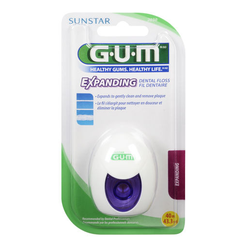 Picture of GUM EXPANDING DENTAL FLOSS 40M