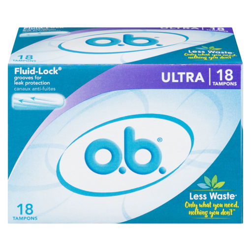 Picture of OB TAMPONS - ULTRA 18S