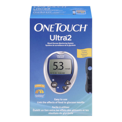 Picture of ONE TOUCH ULTRA2 BLOOD GLUCOSE METER