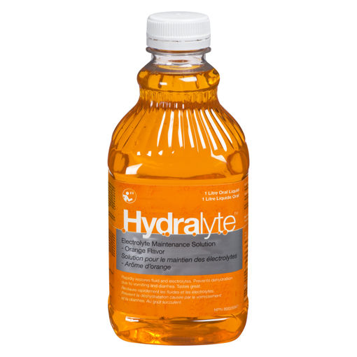 Picture of HYDRALYTE ELECTROLYTE SOLUTION - ORANGE 1LT