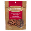 Picture of QUICKTREATS ROASTED ALMONDS W/SEA SALT 120GR