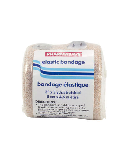 Picture of PHARMASAVE BANDAGE - ELASTIC  2IN X 5YDS