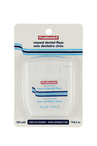 Picture of PHARMASAVE FLOSS - WAXED REGULAR 125YD