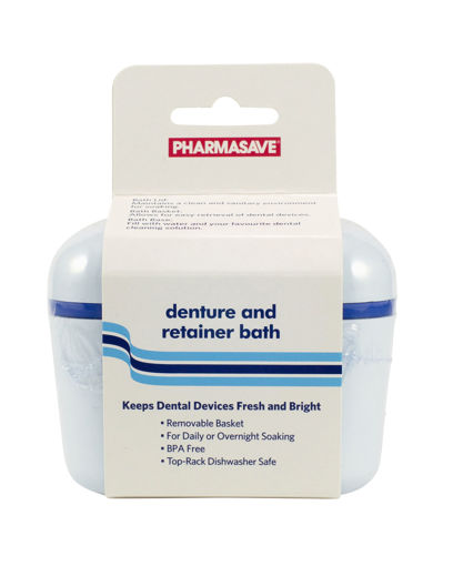 Picture of PHARMASAVE DENTURE AND RETAINER BATH