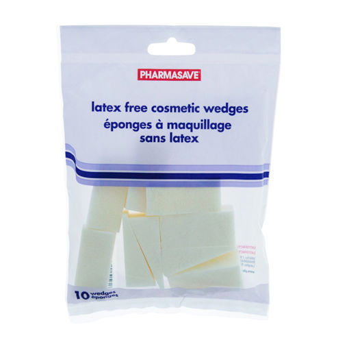 Picture of PHARMASAVE COSMETIC WEDGES SPONGE - LATEX FREE 10S