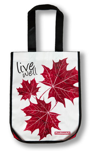Picture of PHARMASAVE REUSABLE BAG - MAPLE LEAF - SMALL