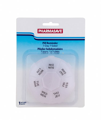 Picture of PHARMASAVE 7-DAY 7-SIDED PILL REMINDER