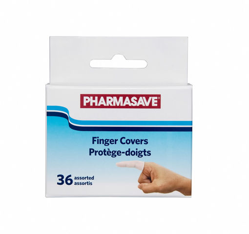 Picture of PHARMASAVE FINGER COVER ASSORTED SIZES 36S
