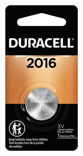 Picture of DURACELL LITHIUM COIN CELL 2016