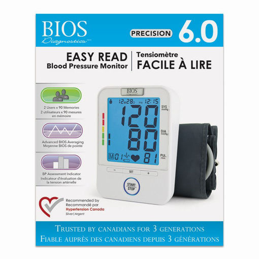 Picture of BIOS BLOOD PRESSURE UNIT W/EASY TO READ BACKLIGHT