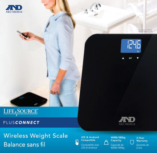 Picture of LIFESOURCE BLUETOOTH SCALE - UC350 BLUE