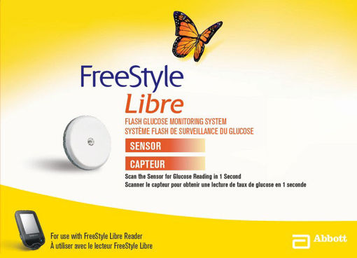 Picture of FREESTYLE LIBRE FLASH GLUCOSE MONITORING SYSTEM - SENSOR KIT
