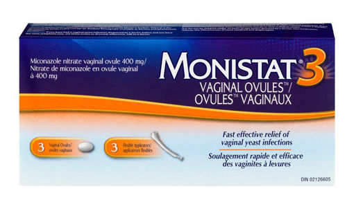 Picture of MONISTAT 3-DAY OVULES