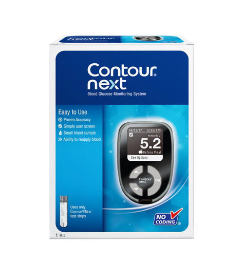 Picture of ASCENSIA CONTOUR NEXT BLOOD GLUCOSE METER