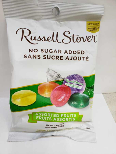 Picture of RUSSELL STOVER NSA HARD CANDY - ASSORTED FRUIT 150GR